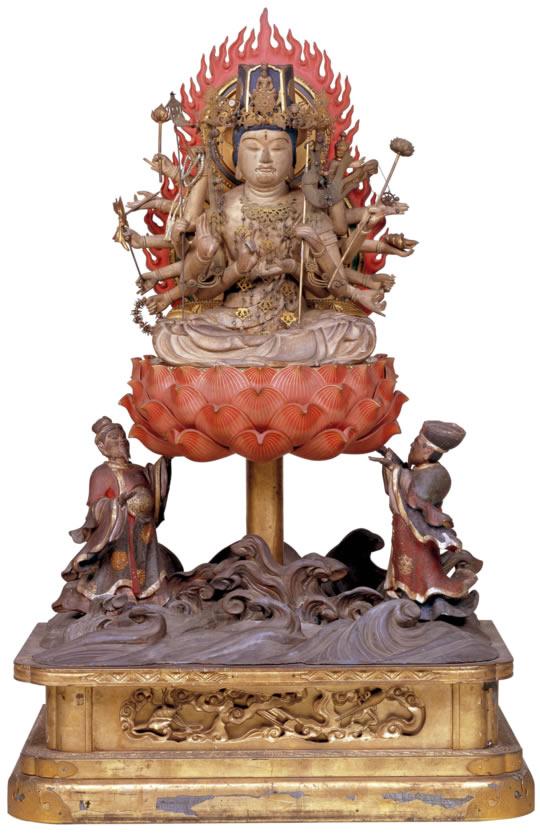 准胝観世音菩薩 准胝観世音菩薩 この春、醍醐寺では「彼岸会精霊ご回向・土砂加持法要」を... 世